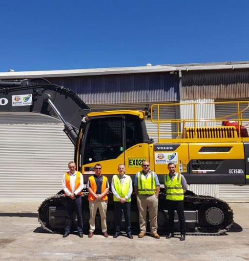 Performance Mining Equipment and Contract Mining.